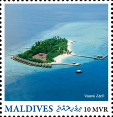 Vaavu Atoll - Issue of Maldives postage stamps
